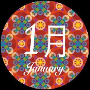 1月の開催日程